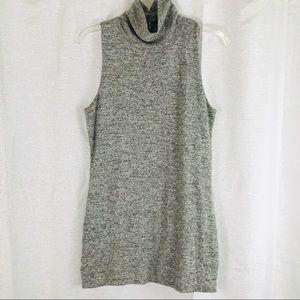 WHBM Mock Neck Sweater Mini Dress M